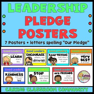Great for Leader In Me Classrooms!