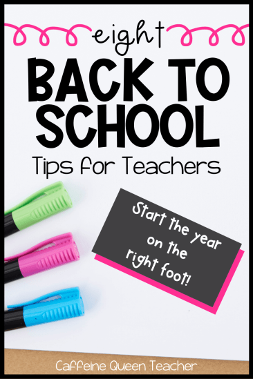 8 Back to School Tips for Teachers