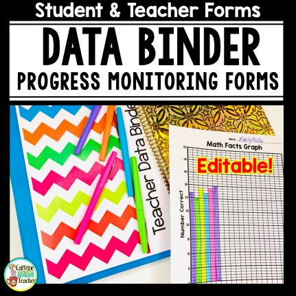 data binder for progress monitoring