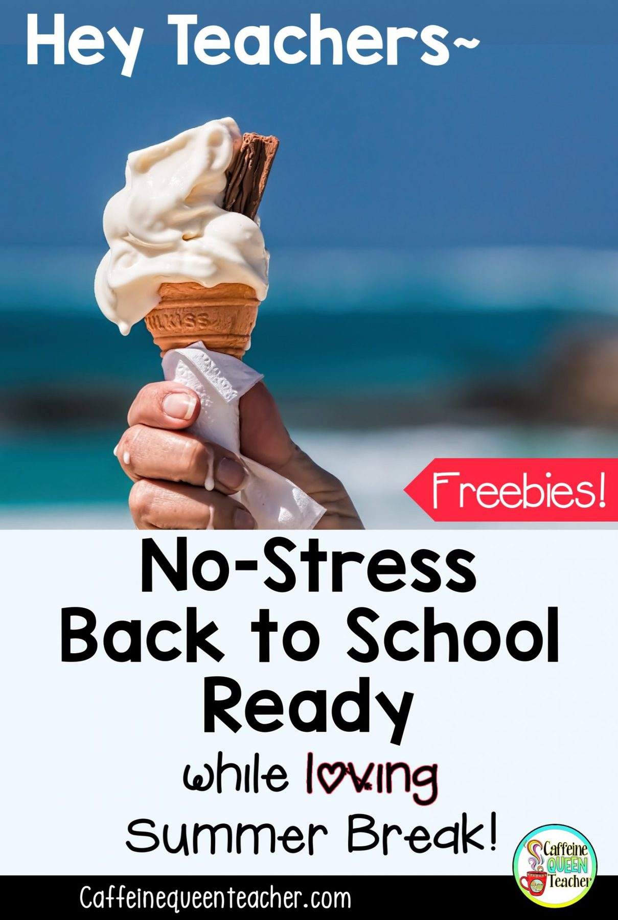 No Stress Back to School Planning for Teachers on Summer Break!