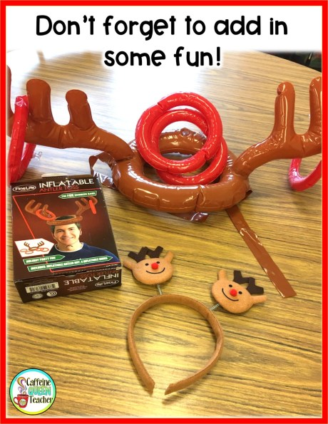 Remember to make time for fun in the classroom during the holidays!