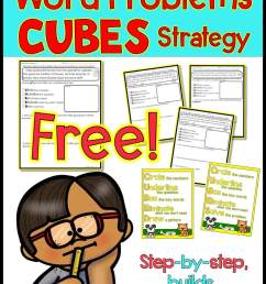 FREE Worksheet - Addition and Subtraction Word Problems Strategy - Caffeine  Queen Teacher [ 1800 x 1209 Pixel ]