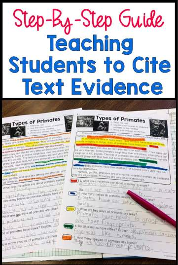 how-to-teach-students-to-cite-text-evidence-title image