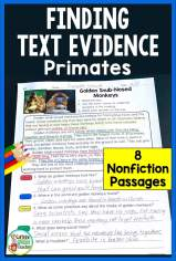primates-reading-comprehension-finding-text-evidence-passages-black-pin