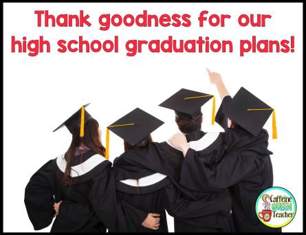 high school graduates are excited for a graduation plan