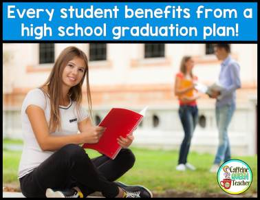 photo promoting high school post-graduation plan teaching resource