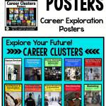 posters of career clusters by US Department of Education