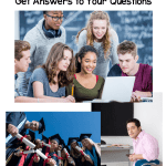 photo collage of teens - ad for career readiness and exploration activities and lessons for class
