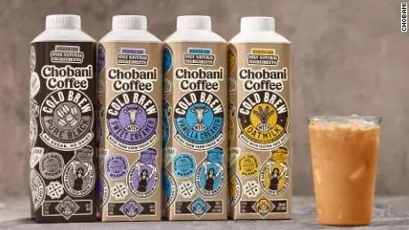 Chobani cold pressed cold brew coffee drink
