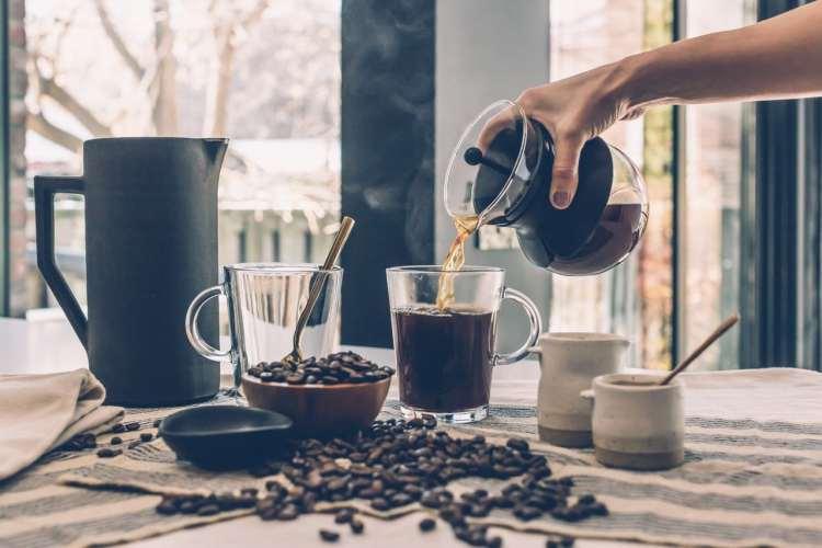 Coffee breakfast, Making Coffee