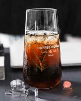 Large Beer Glass Coffee Cup Transparent Glass Mug - Beer Coffee Mug