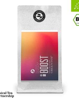 Boost – Green Tea Fruit Herbal Blend – Lemon/apricot taste