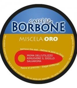 Caffè Borbone dolce gusto miscela oro 15cps