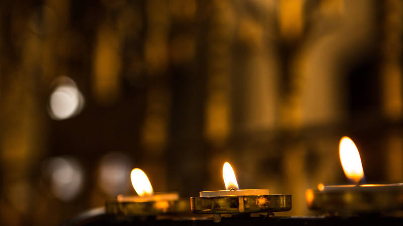 light a candle on our online votive