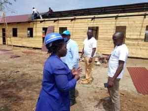 Shelter Construction in Ntoroko