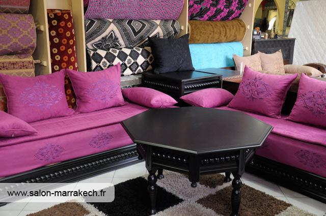 Image Dcoration salon marocain 2014 moderne  caftan du maroc