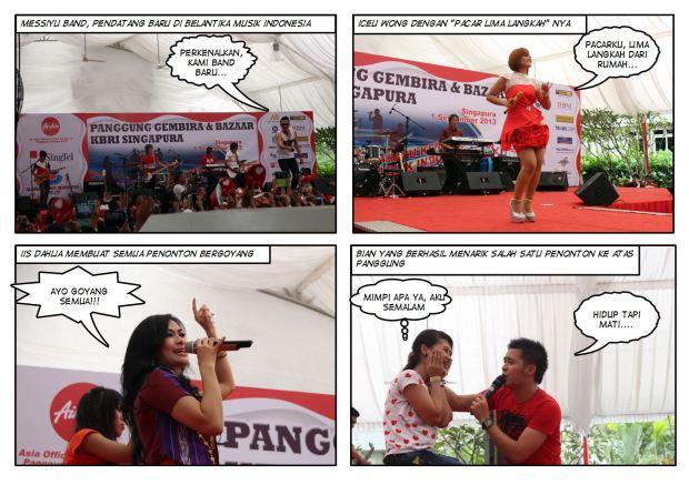 Artis Pendukung Panggung Gembira 2013