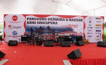 Panggung Gembira KBRI Singapura 2013