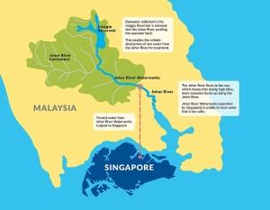 Air impor dari Johor