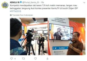 Bakal Calon Presenter Kemlu TV