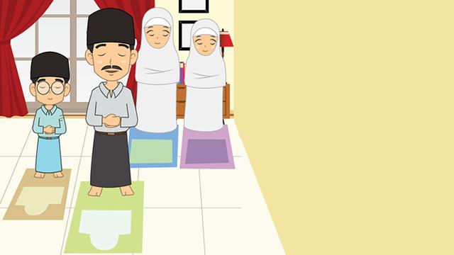 Tarawih bersama Keluarga