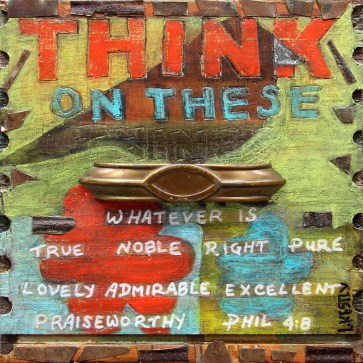 """""""Think on These Things"""" by Laura Kestly"""