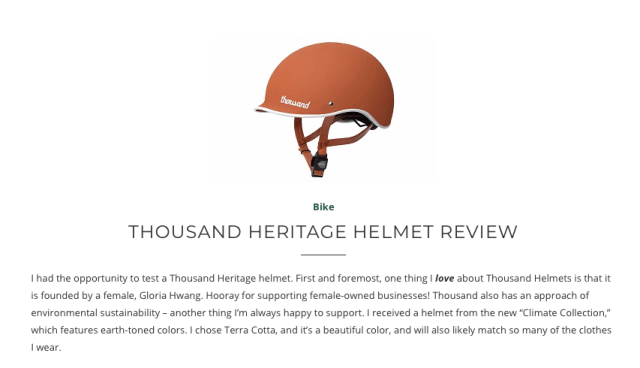 helmet, bike helmet, Thousand, Thousand helmet, review, bike helmet review, Thousand bike helmet, cycling, cycling helmet