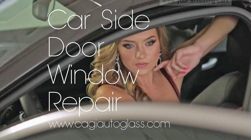 car side door window repair