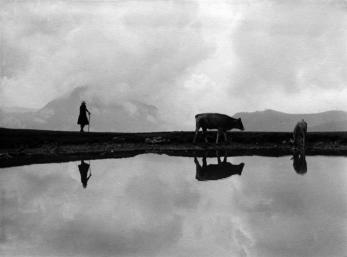 Reflections on water in Grigna, 1935