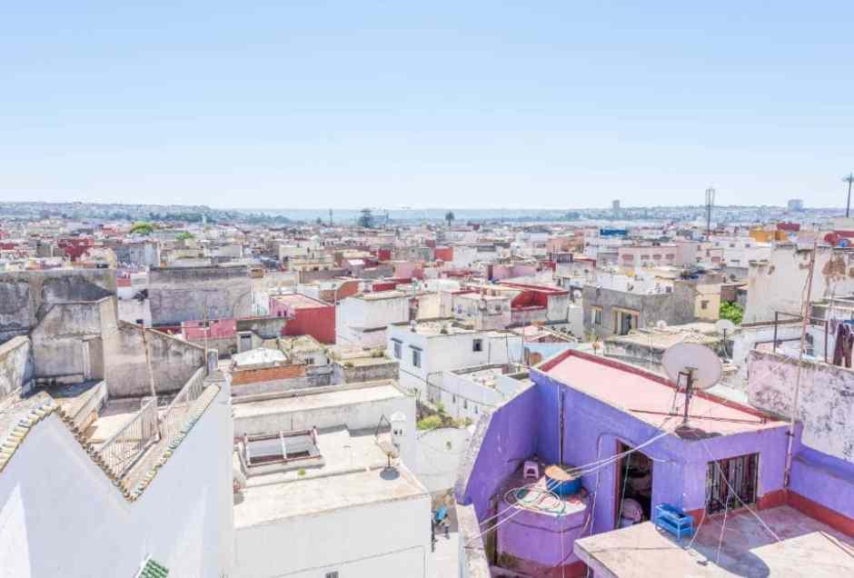 View over Salé, Morocco