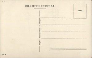 Portuguese blank postcard
