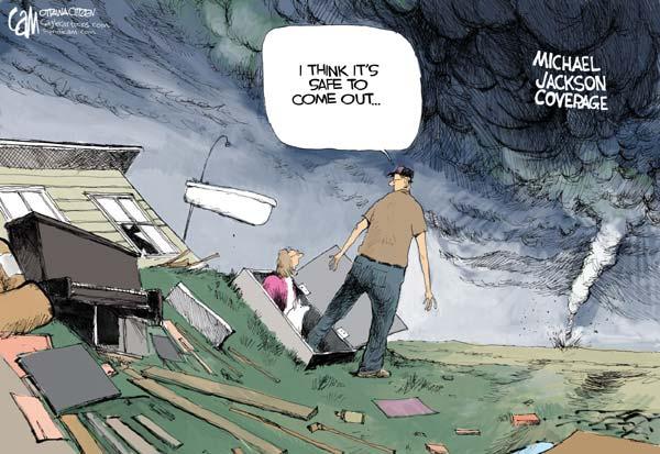 Media creating a storm?