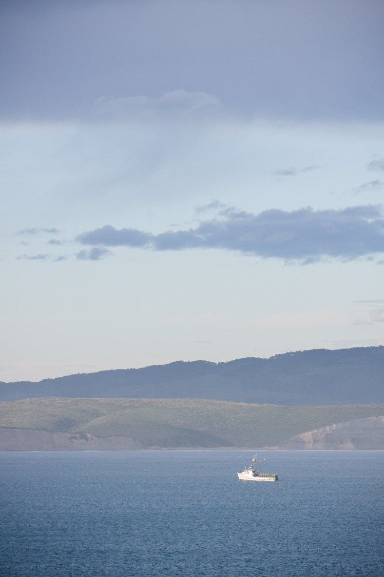 Fishing boat, Point Reyes