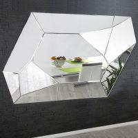 XL Wandspiegel FACETTO mit Facettenschliff & 11 Spiegelflächen 165cm x 115cm