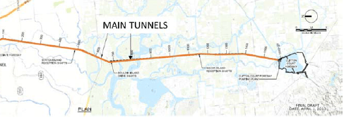 Tunnel map