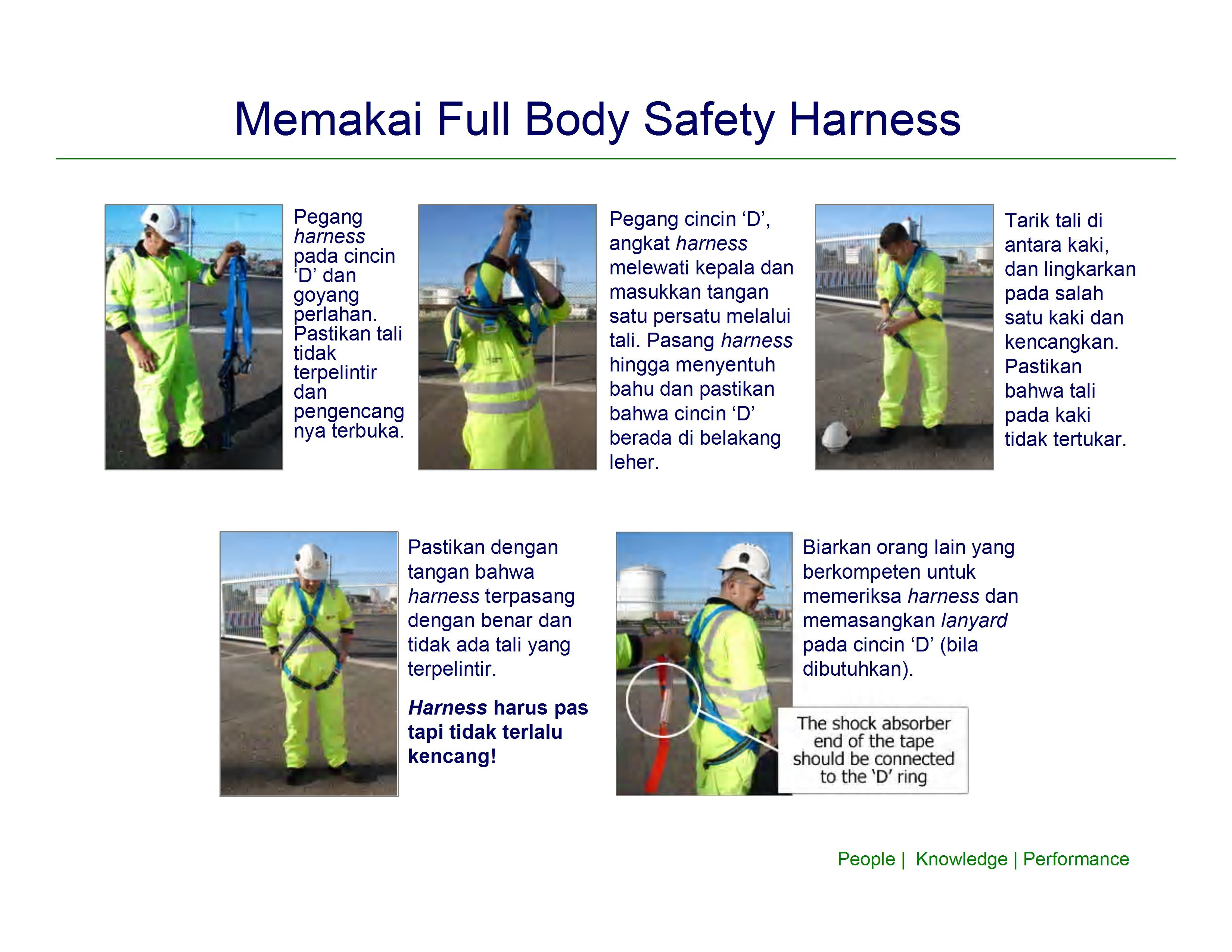 Fungsi Full Body Safety Harness