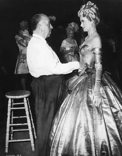 Director-Alfred-Hitchcock-and-Grace-Kelly-on-the-set-of-'To-Catch-a-Thief'-1955.