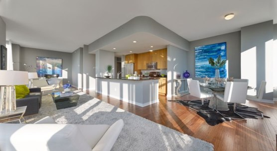MODEL PENTHOUSE AT TRIO IN PALISADES PARK, NJ