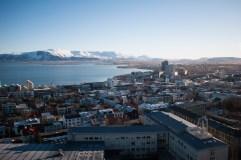View from Hallgrímskirkja Church.