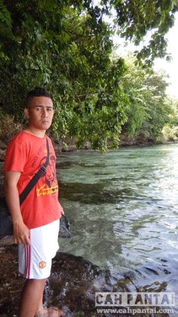 Pantai Moli'i Sahatu, airnya belum surut