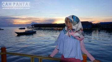 Sunset di Derawan