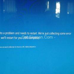 Error setelah update windows 10 - CahSleman.Com