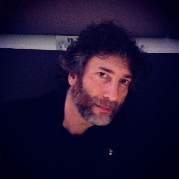 Neil Gaiman at the Barbican Centre