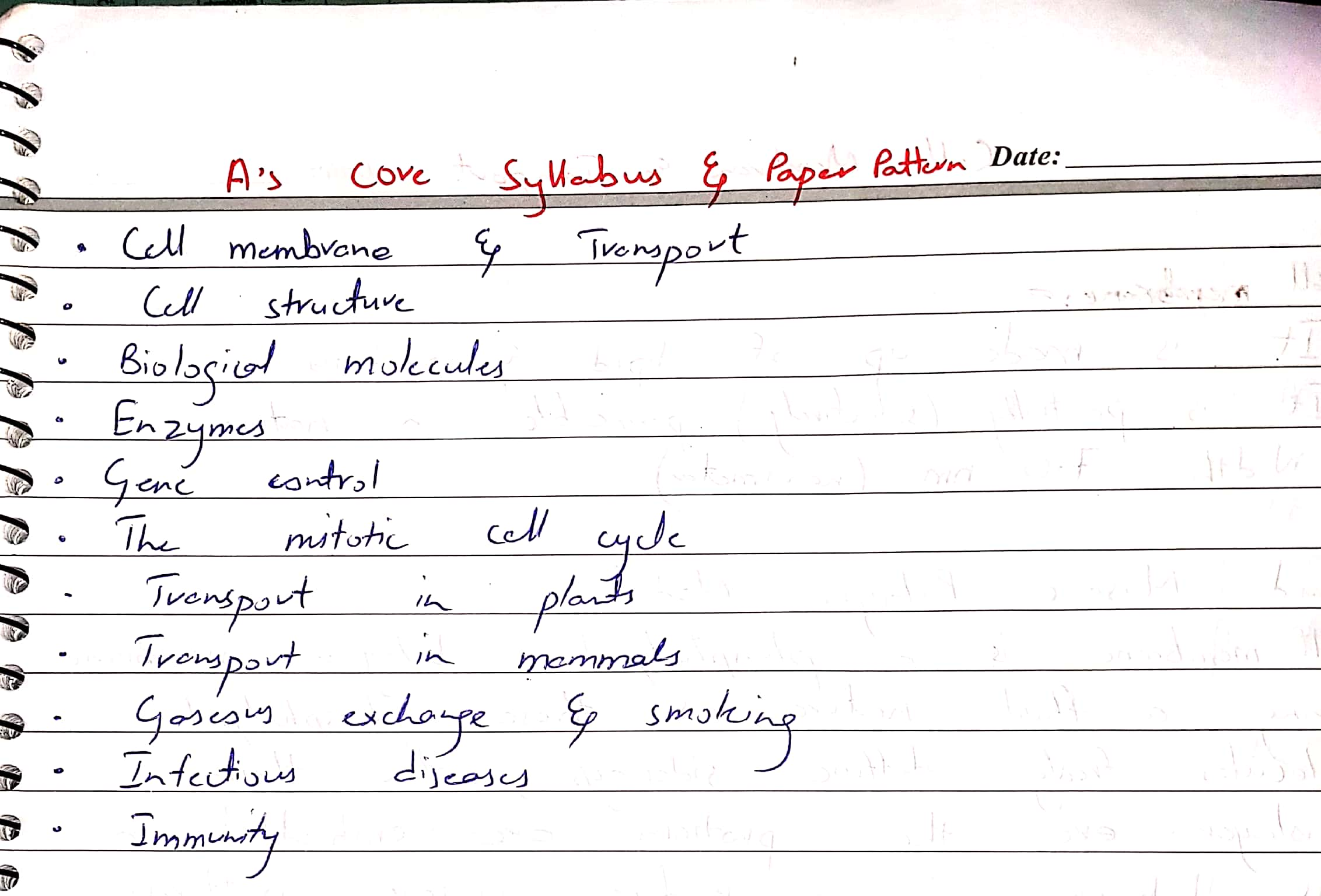 As biology notes by Dr Husnain chap Cell Membrane_1