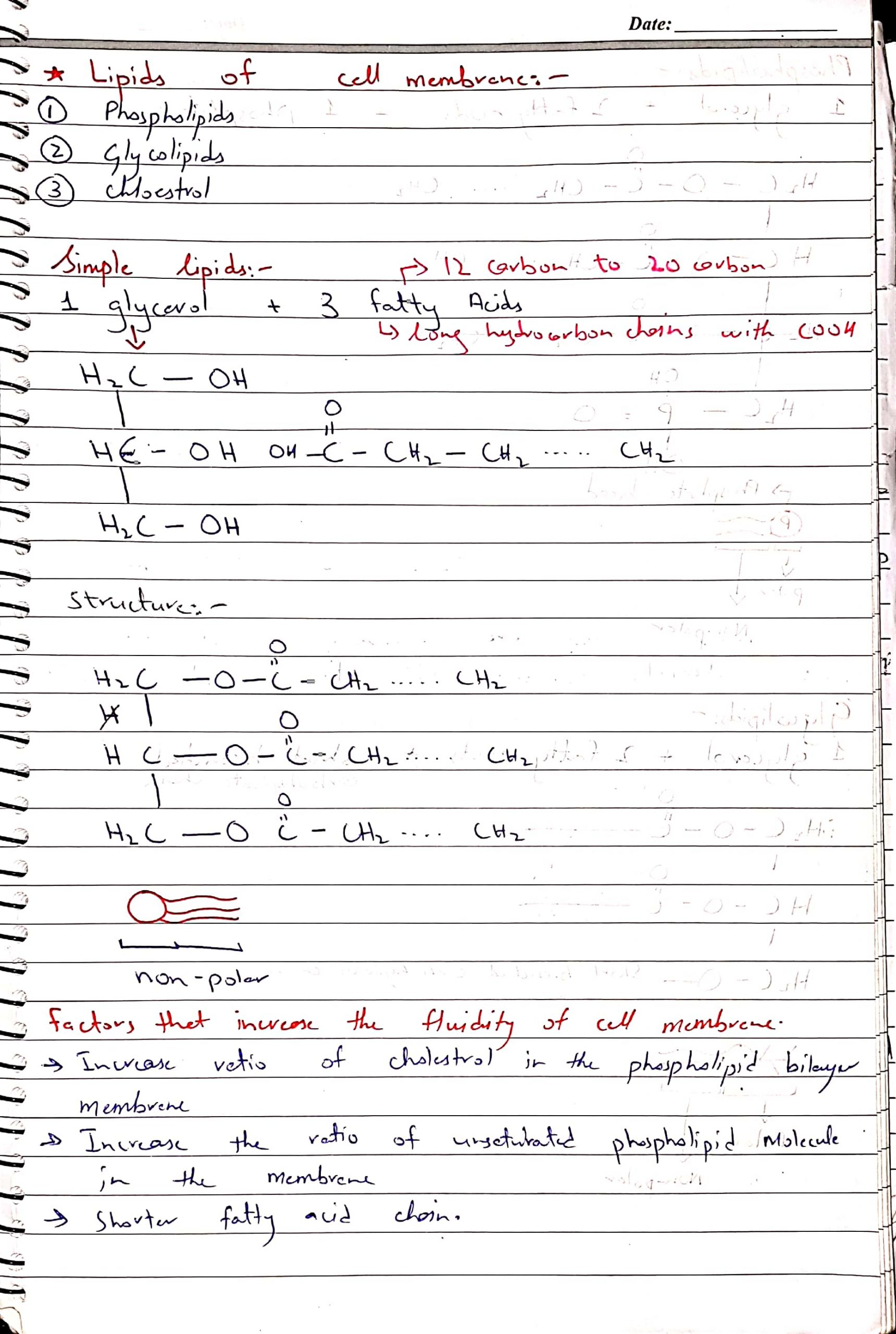 As biology notes by Dr Husnain chap Cell Membrane_3