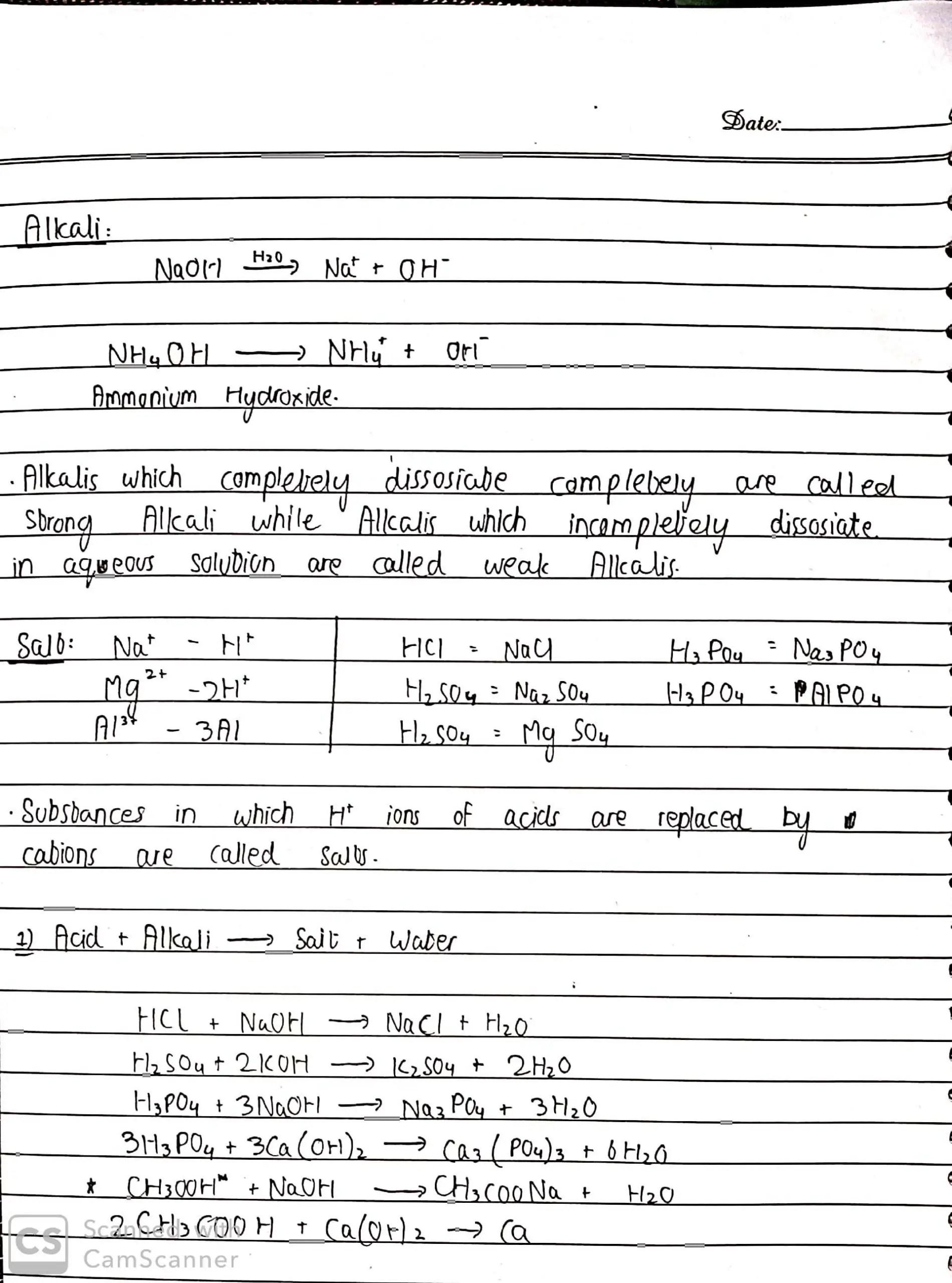 Olevel chem By Sir Rizwan Acid basis salt_2