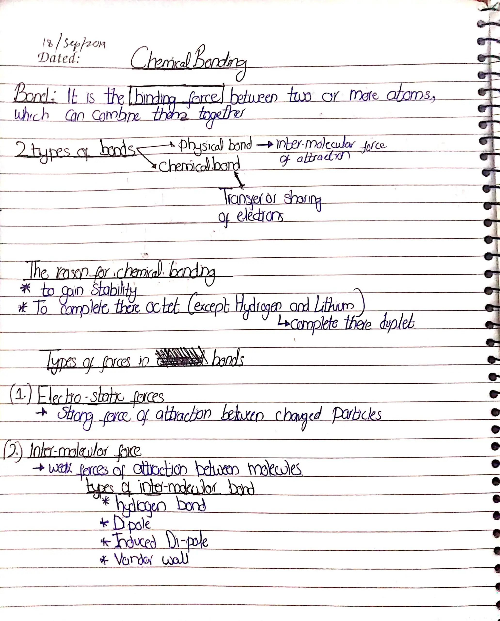 chemical bonding Sir Kashif_1