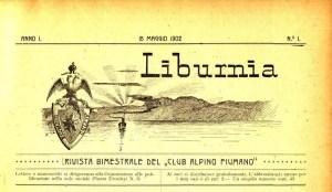 Liburnia Primo numero maggio 1902
