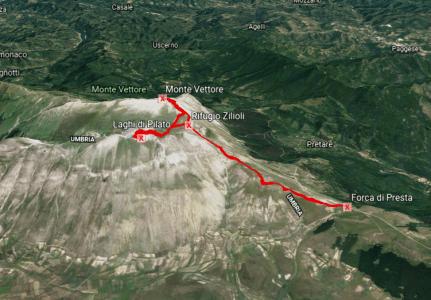 Monte Vettore – Laghi di Pilato