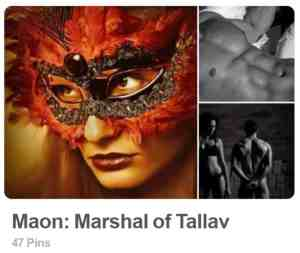 Maon: Marshal of Tallav PInterest Board